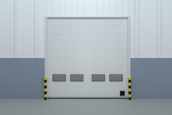 硬质快速门用作厂房大门的好处